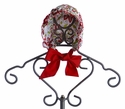 Le' Za Me Baby Bonnet for Girls Christmas Floral