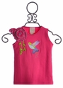 Lemon Love Lime Hummingbird Top in Fuchsia