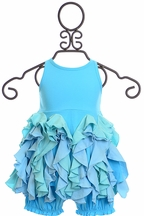 Lemon Loves Lime Baby Dress in Blue (3-6Mos,6-12Mos,18-24Mos)