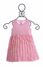 Lemon Loves Lime Baby Girls Dress in Light Pink (Size 18/24 Mos)