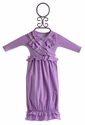 Lemon Loves Lime Baby Girls Gown Light Purple