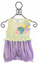 Lemon Loves Lime Baby Romper Rainbow Fish (Size 18-24Mos)