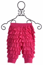 Lemon Loves Lime Baby Ruffle Pants in Fuchsia (0-3Mos,12-18Mos,18-24Mos)