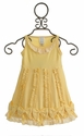 Lemon Loves Lime Dancing Bows Dress for Baby