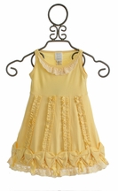 Lemon Loves Lime Dancing Bows Dress for Baby (0-3Mos,3-6Mos,18-24Mos)