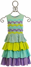 Lemon Loves Lime Dress for Girls Petunia (2,3,4)