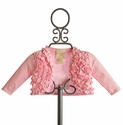 Lemon Loves Lime Emma Cardigan for Infants Pink (12/18 Mos & 18/24 Mos)