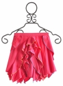 Lemon Loves Lime Fuchsia Girls Ruffle Skirt