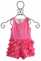 Lemon Loves Lime Fuchsia Infant Romper