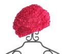 Lemon Loves Lime Fuchsia Ruffle Infant Hat