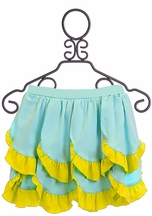 Lemon Loves Lime Girls Skirt Mermaid in Blue