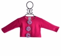 Lemon Loves Lime Infant Girls Cardigan Poppy Fuchsia