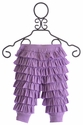 Lemon Loves Lime Infant Ruffle Pants in Purple