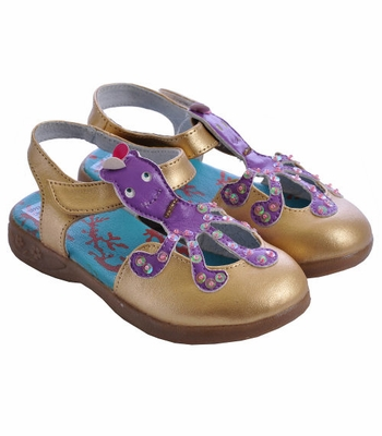 Lemon Loves Lime Little Girls Shoes Octopus