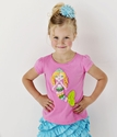 Lemon Loves Lime Mermaid Rainbow Tee for Girls