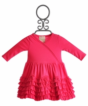 Lemon Loves Lime Pink Infant Dress Jada Ruffles