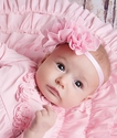 Lemon Loves Lime Pink Infant Headband