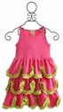 Lemon Loves Lime Rose Fairy Girls Dress