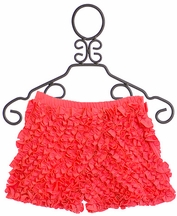 Lemon Loves Lime Ruffle Shorts in Sugar Coral (2 & 5)