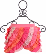 Lemon Loves Lime Ruffle Skort in Pink