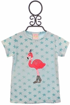 Lemon Loves Lime Sassy Flamingo Tee