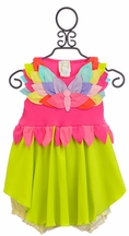 Lemon Loves Lime Wings of Beauty Baby Dress (Size 18-24Mos)