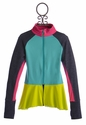 Limeapple Activewear Jacket for Girls with Ruffles