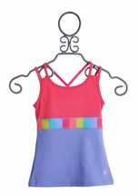 Limeapple Girls Sports Tank Top (4,5,10/12)