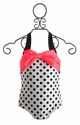 Little Girls Retro Swimsuit by Love U Lots