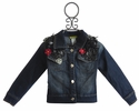 Little Mass Denim Jacket for Girls Hard Rock
