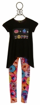 Little Mass Girls Donut Top and Legging Set (4,5,6X,10)