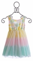 Little Mass Girls Easter Dress with Daisies