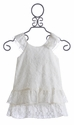 Little Mass Girls Ivory Lace Dress