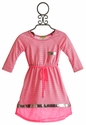 Little Mass Girls JoJo Pink Tory Dress