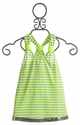 Little Mass Girls Neon JoJo Stripe Tunic