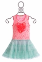 Little Mass Girls Tutu Dress with Heart