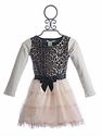Little Mass Leopard Queen Girls Tutu Dress