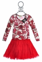 Little Mass Mary Poppin Red Girls Dress