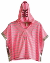 Little Mass Pink Striped Tween JoJo Caplet (Size 14)