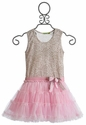 Little Mass Pink Truffle Tutu Dress for Girls
