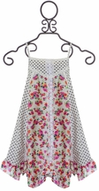 Little Mass Spring Dress Polka Dots and Floral (4 & 5)