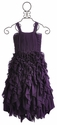Liv Girls Ruffle Holiday Gown Plumberry