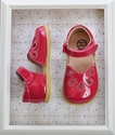 Live & Luca Petal Shoes in Watermelon