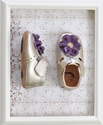 Livie and Luca Baby Blossom Gold Shoe