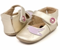 Livie and Luca Baby Shoes in Gold Metallic Pio Pio