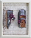 Livie and Luca Baby Shoes in Grey Bluebell