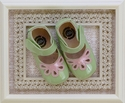 Livie and Luca Baby Shoes Petal Green