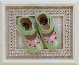 Livie and Luca Baby Shoes Petal Green (Size 12-18Mos)