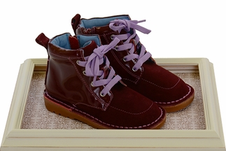 Livie and Luca Barnum Boots for Girls in Plum (Size 5)