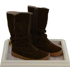 Livie and Luca Calliope Boots in Mocha Suede (4i,5,6)